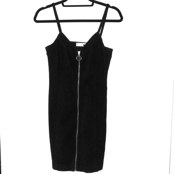 ad77376fdc TopShop Zip Through Denim Body-Con Dress. M 5b83167fdcf8552ff4fac025